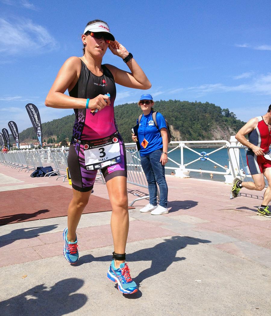 Métodos continuos e interválicos en triatlón