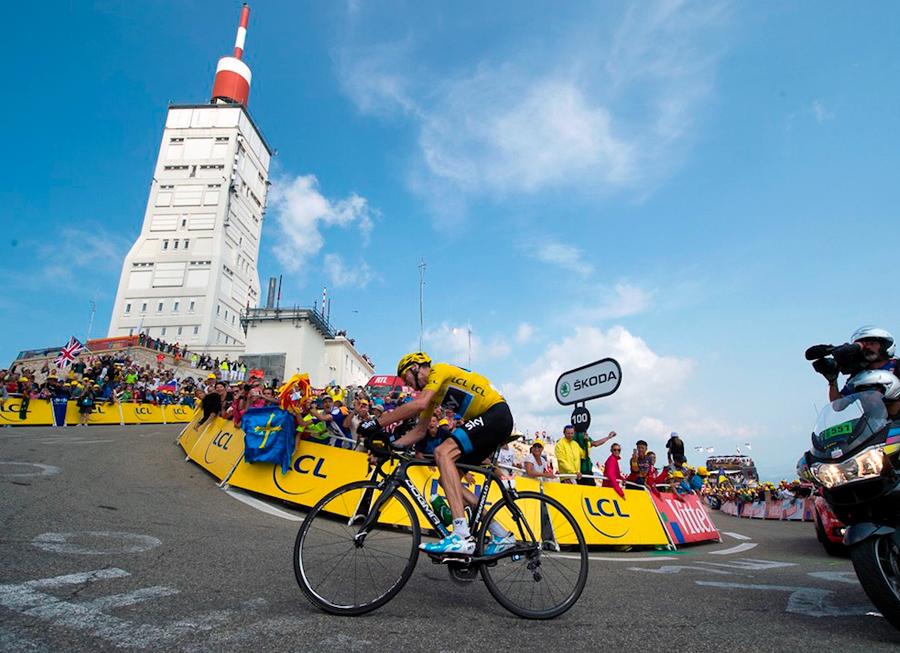 Un entrenamiento para ganar el Tour de Francia
