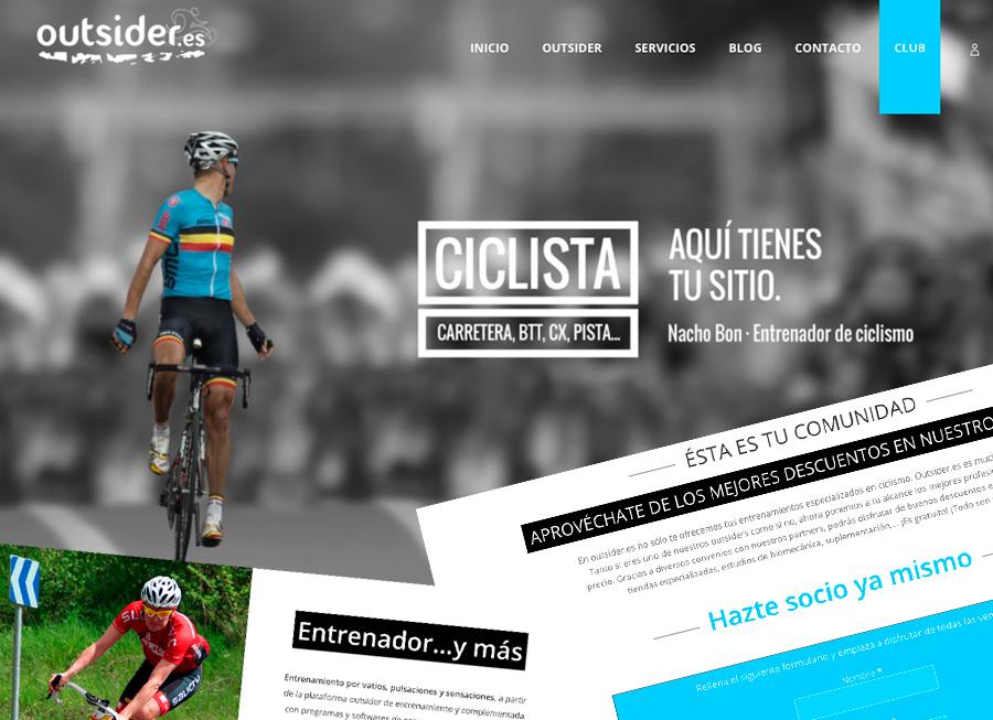 Outsider.es…Espíritu 100% ciclista